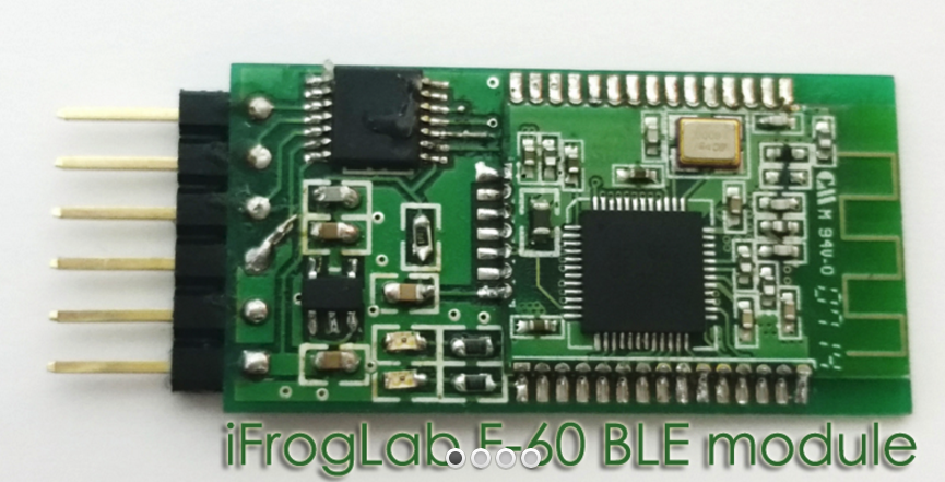 iFrogLab | iFrogLab F-60 Ble Bluetooth Transceiver Module, Low Power