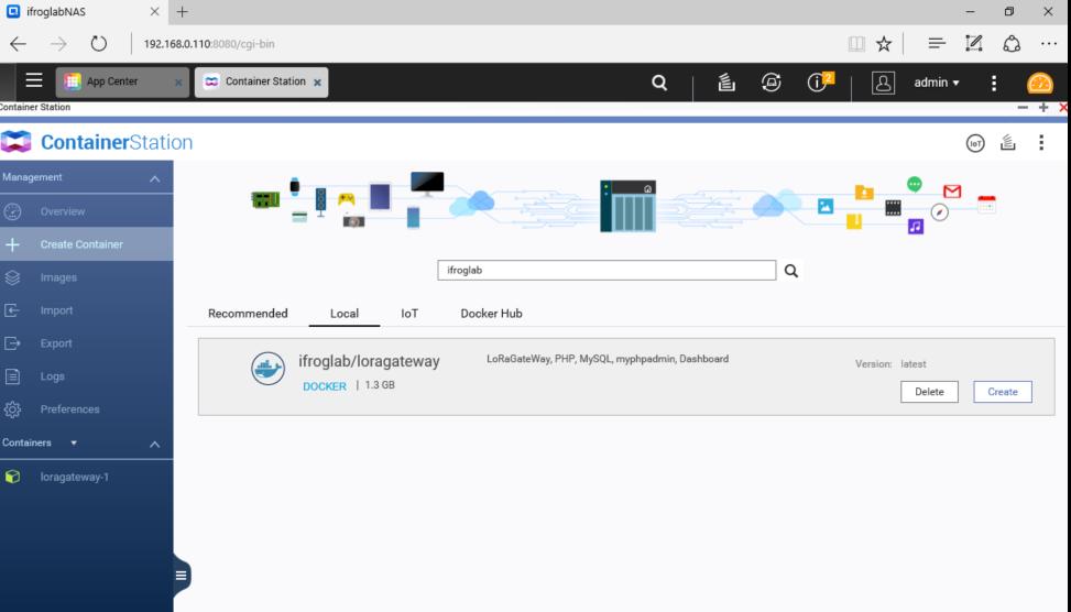 iFrogLab | 01, iFrogLab LoRa Gateway execute at QNAP or iEi
