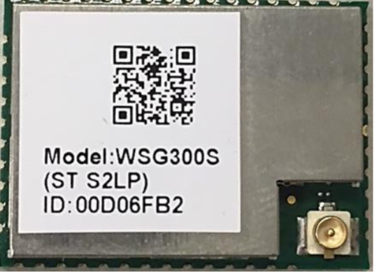 Sigfox EVB Board of LiteON- WSG303S : RC1/3/5 for Europe EVB